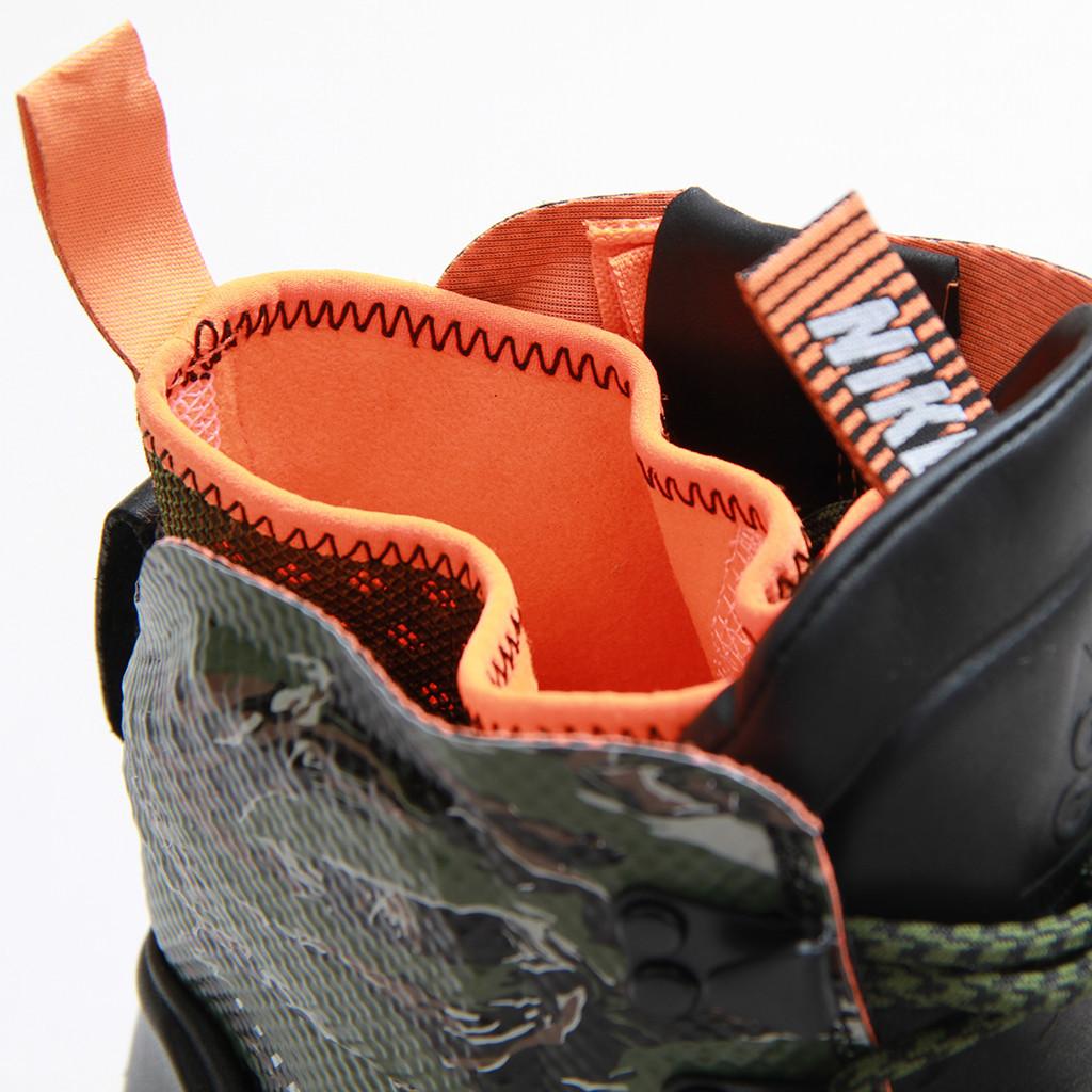brand new bd682 75bb9 Nike LunarTerra Arktos Tiger Camo modular bootie