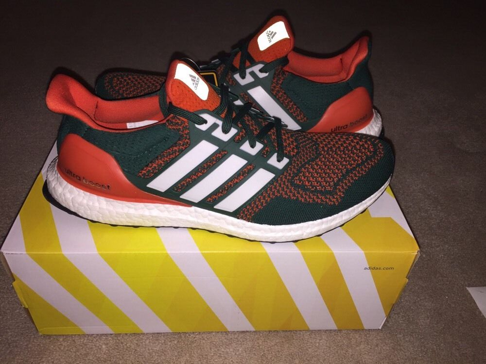 af8b12315 The Miami Hurricanes Got Laced With Their Own adidas Ultra Boosts ...