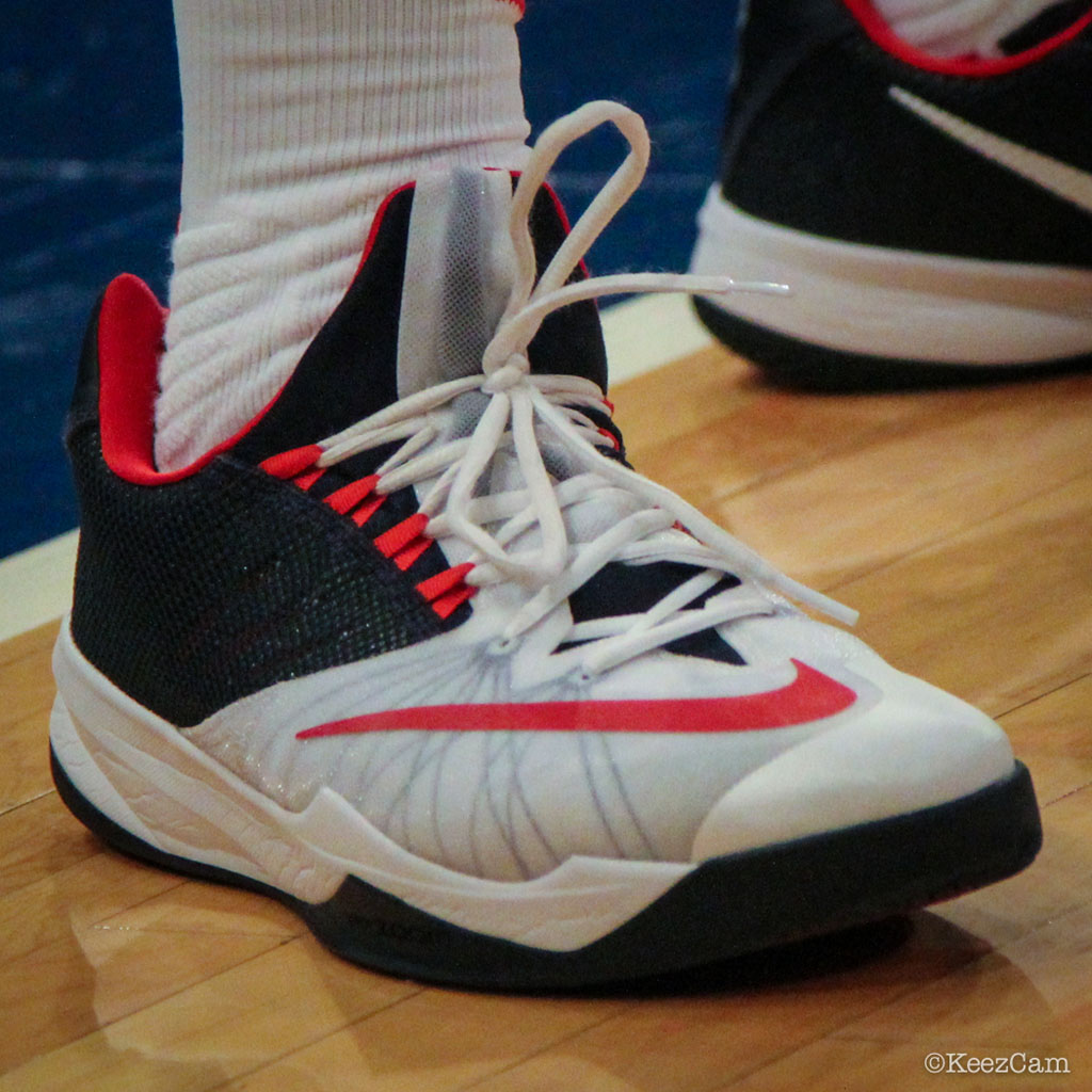 James Harden Under Armour: Sole Watch: Up Close At MSG For USA Vs Dominican Republic