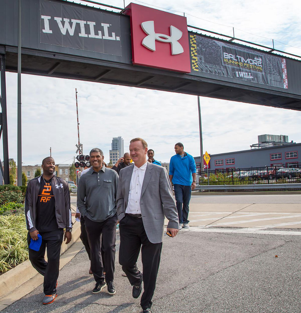Raymond Felton Visits Under Armour Campus & Brandhouse (2)