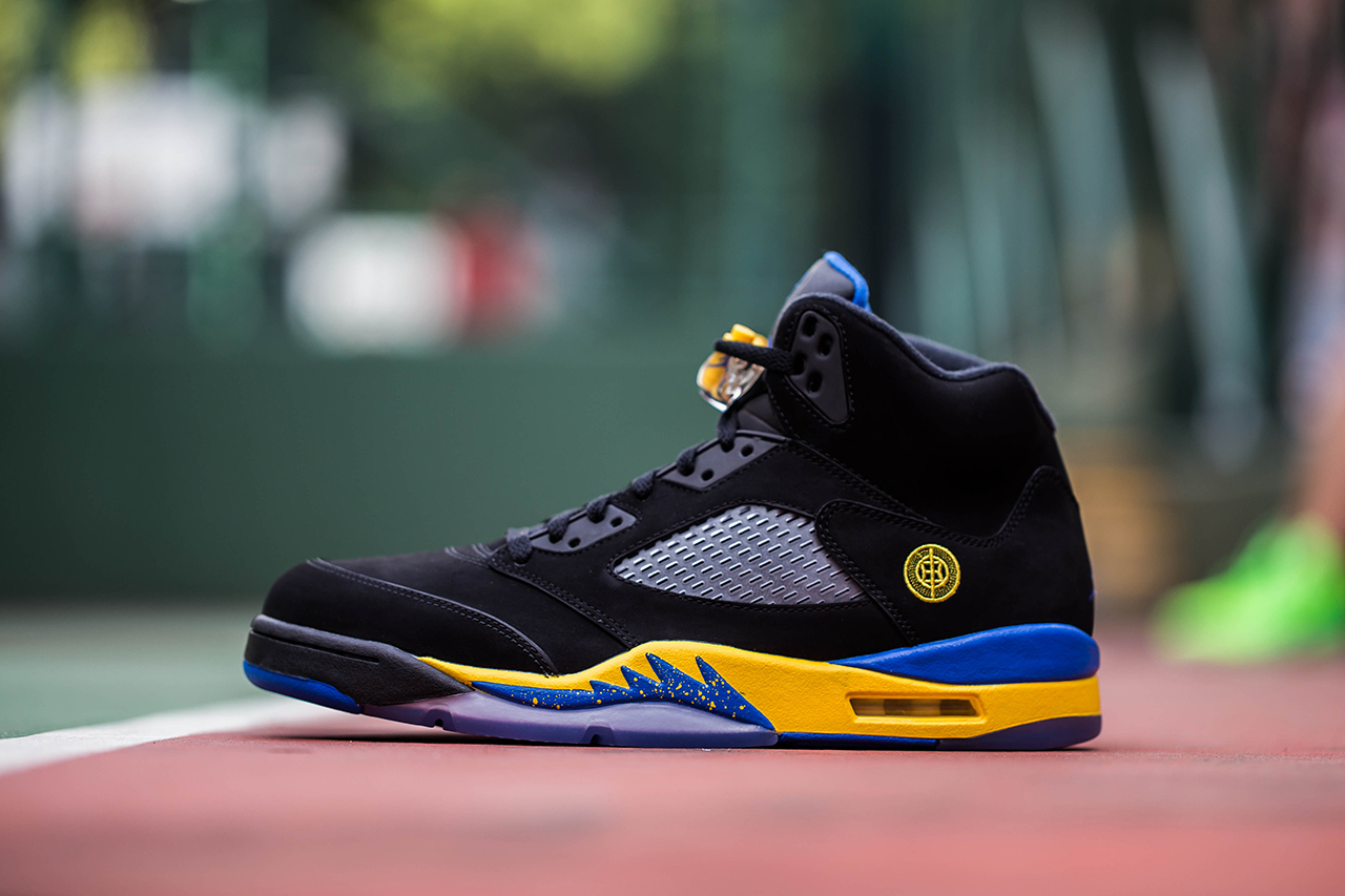 the latest 14a25 b2322 Air Jordan 5 V Retro Shanghai Shen profile