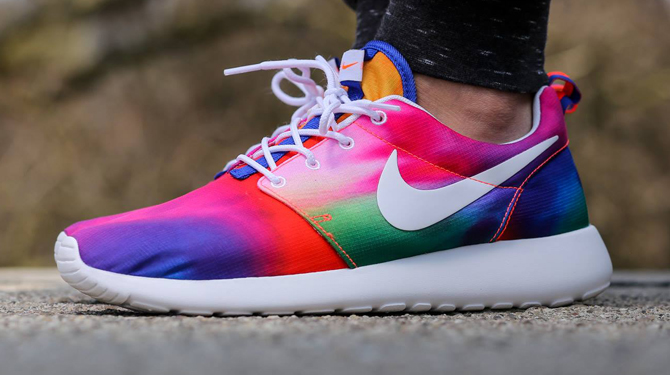 Nike Gets Groovy with Tie Dye Roshe Runs