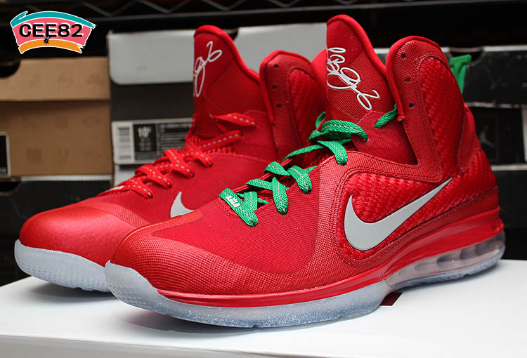Christmas Lebron 9s.Nike Lebron 9 Christmas Sole Collector