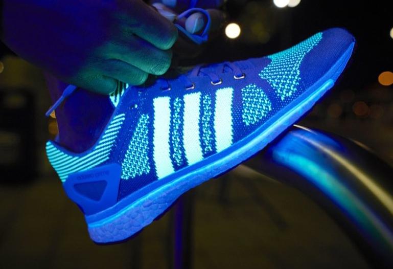 cheap for discount bd01f a8469 Glow in the Dark Adidas Adizero Primeknit