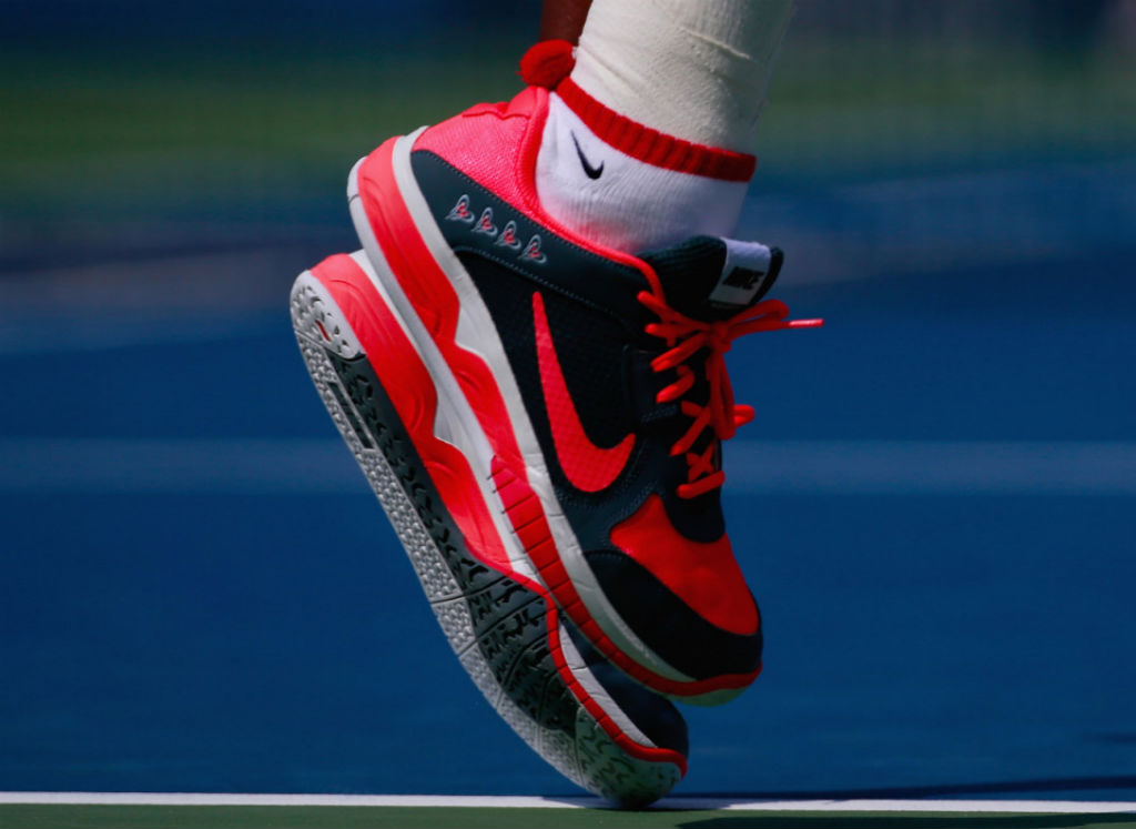 5ee4a7297510 Serena Williams Wins 2013 US Open In Nike Lunar Mirabella PE (13)