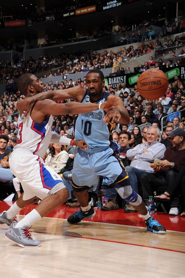 Gilbert Arenas wearing Nike Zoom Huarache Trainer Playstation (2)