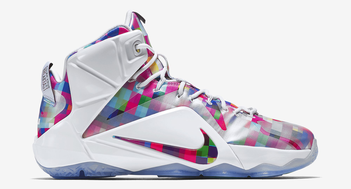 0b589a23bcc7 The Nike LeBron 12 s Take on  Fruity Pebbles