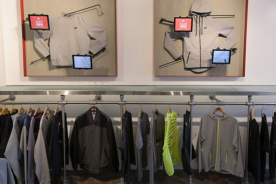 Nike Takeover at Livestock Gastown Displays