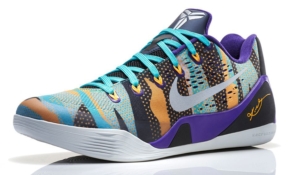 buy popular bb95c ca616 Nike Kobe IX 9 EM Pop Art Camo Release Date 646701-508 (2)