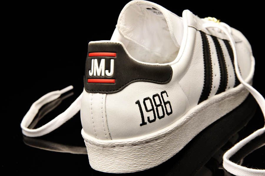 "adidas Originals Superstar 80s - Run DMC ""My adidas"" 25th Anniversary 10"