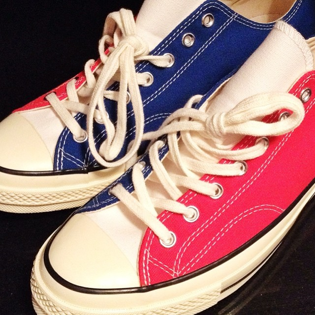 DJ Clark Kent Picks Up Converse Chuck Taylor All Star 70s Independence Day