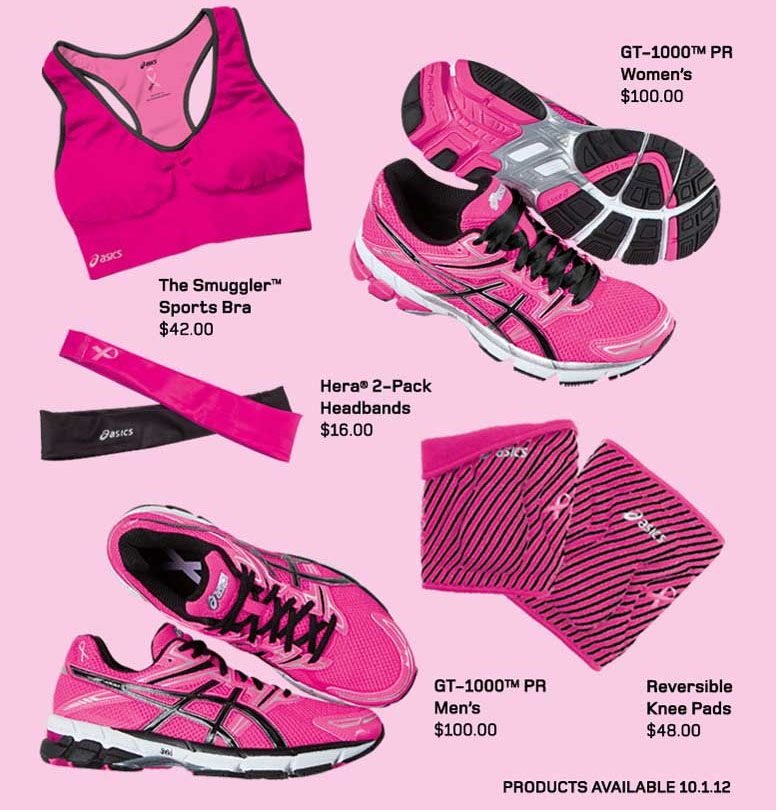 ASICS Breast Cancer Awareness Collection 2012