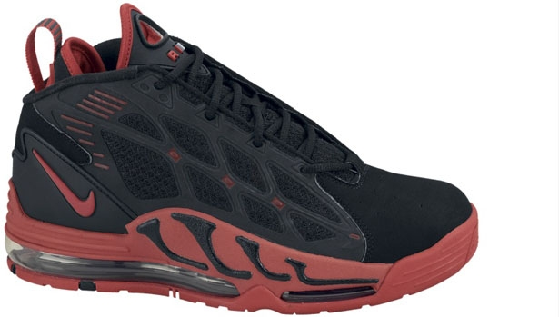 Nike Air Max Pillar Black/Sport Red