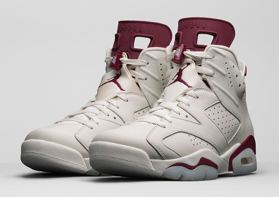 d622935a321 Nike's Doing an Online Drawing for 'Maroon' Air Jordan 6s | Sole ...