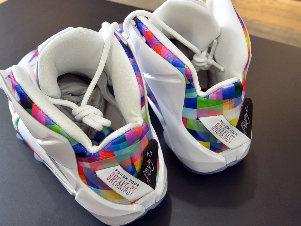 new styles c1476 ddef0 ... where can i buy the nike lebron 12s take on fruity pebbles sole  collector 91c49 eff90