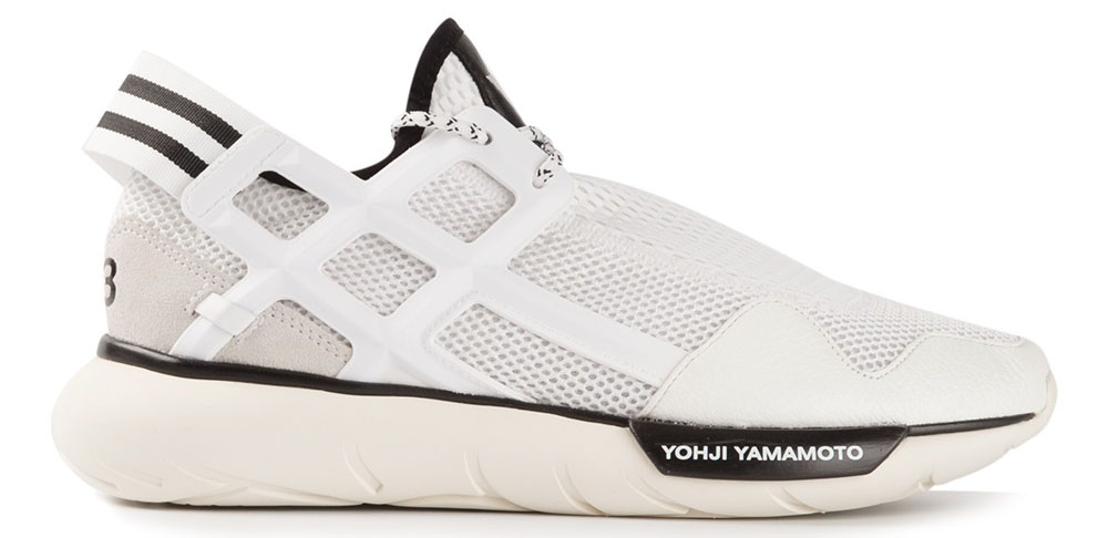 Adidas Y-3 Qasa High Triple White