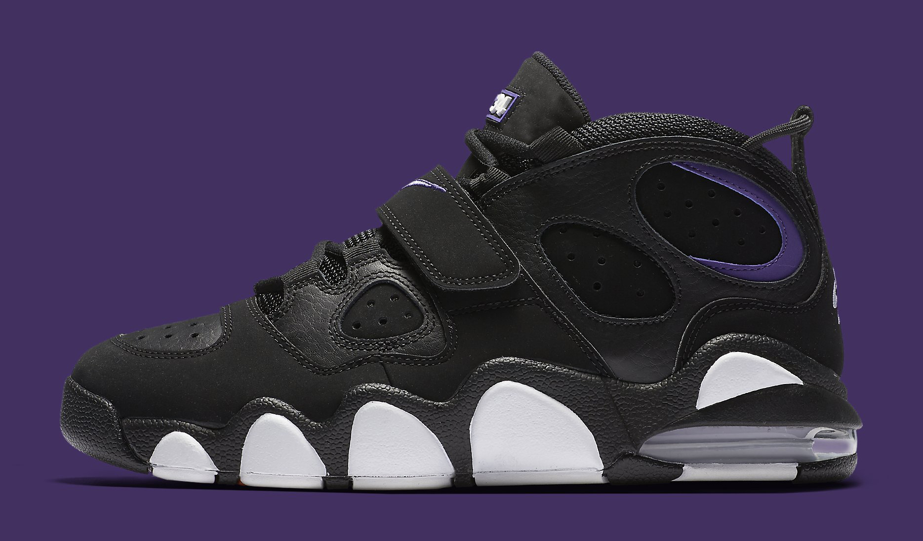 Nike Air CB 34 Black Purple Profile