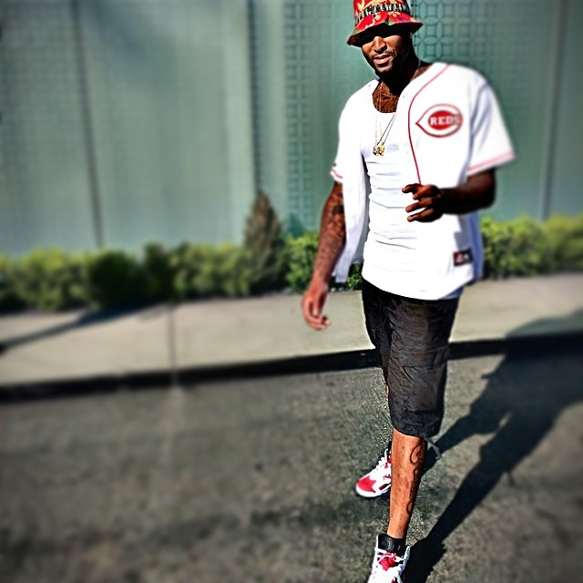 DeMarcus Cousins wearing Air Jordan VI 6 Carmine