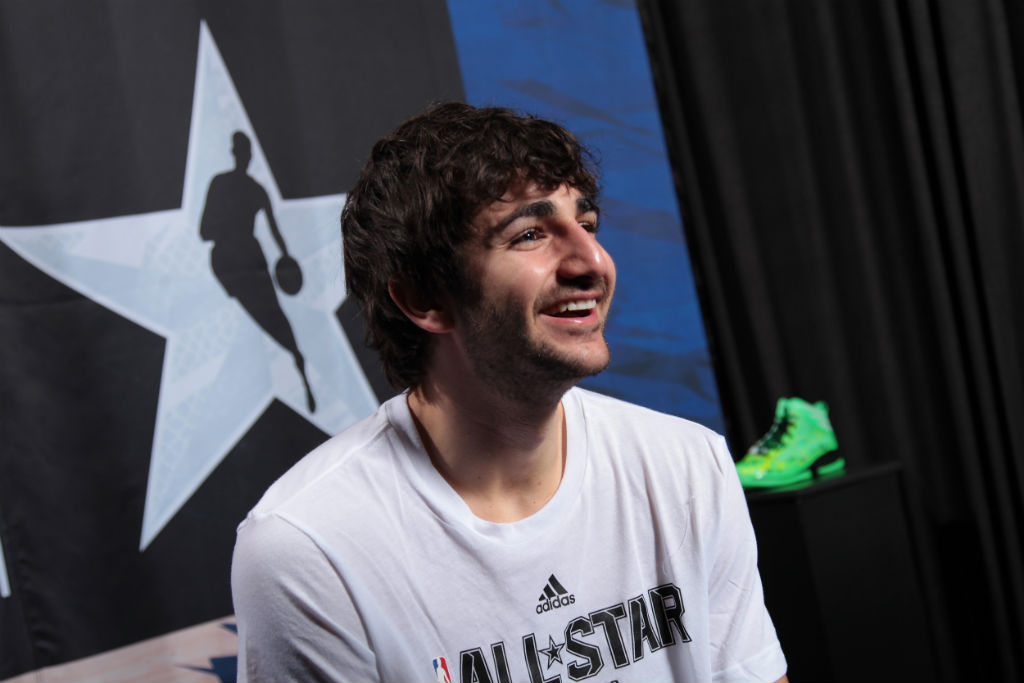 adidas Basketball Athletes Celebrate NBA All-Star // Ricky Rubio (2)