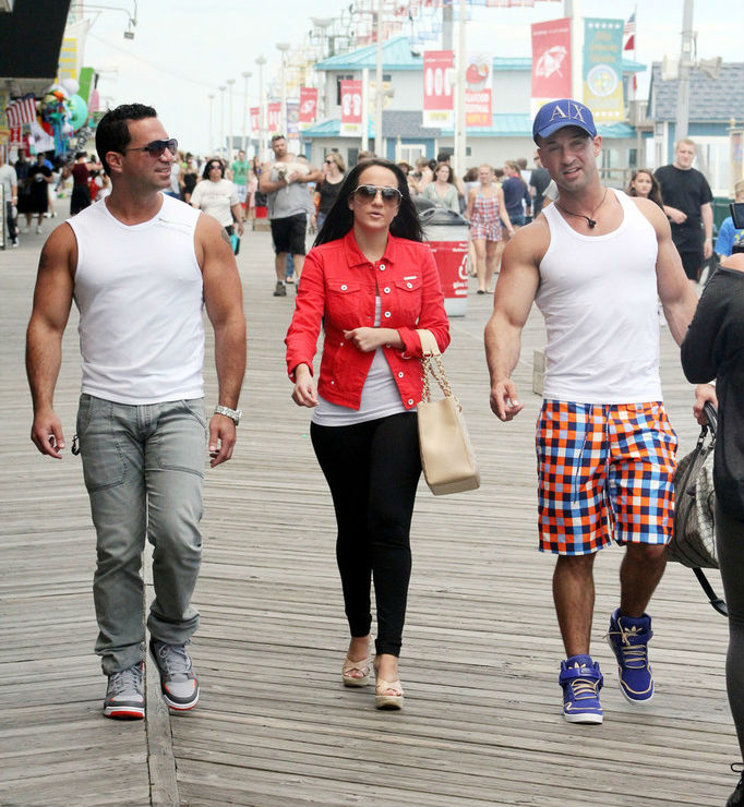 Mike The Situation Sorrentino wearing adidas AR 2.0 Purple