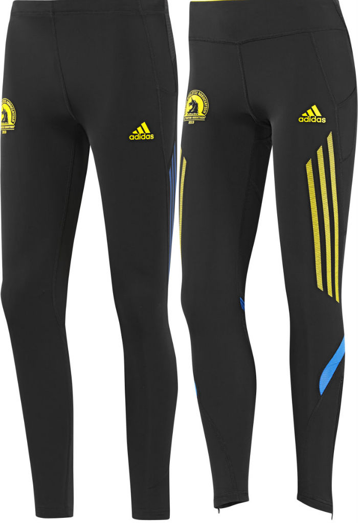adidas 2013 Boston Marathon Collection Supernova Long Tights
