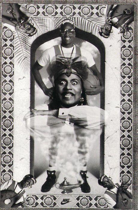 Michael jordan genie nike air jordan poster 1991