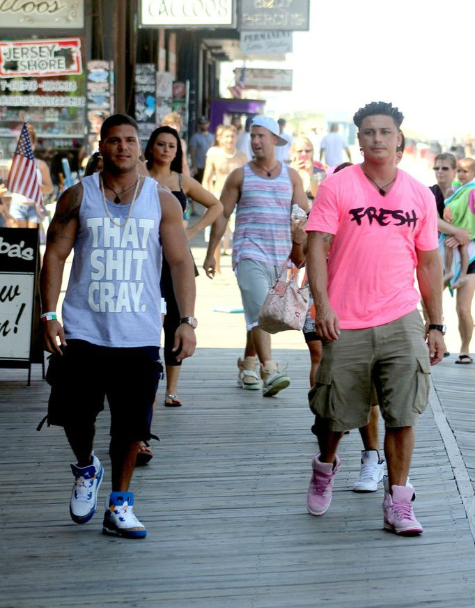 DJ Pauly D wearing Nike Dunk Hi Year of the Pig