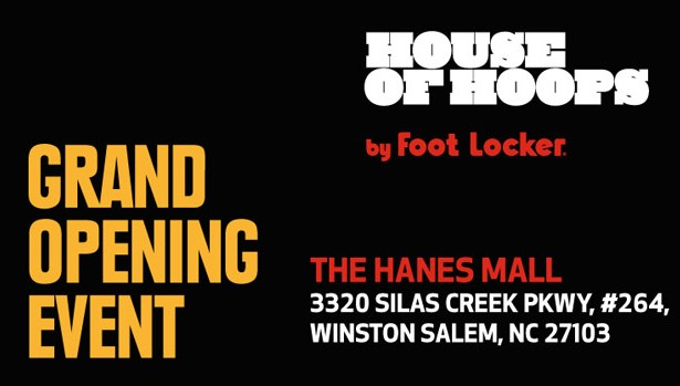 House of Hoops Winston-Salem Grand Opening