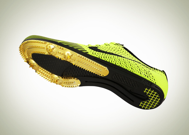 520b2ad9fb1b Look for the Nike Flyknit track spike this Saturday during the Men s  10