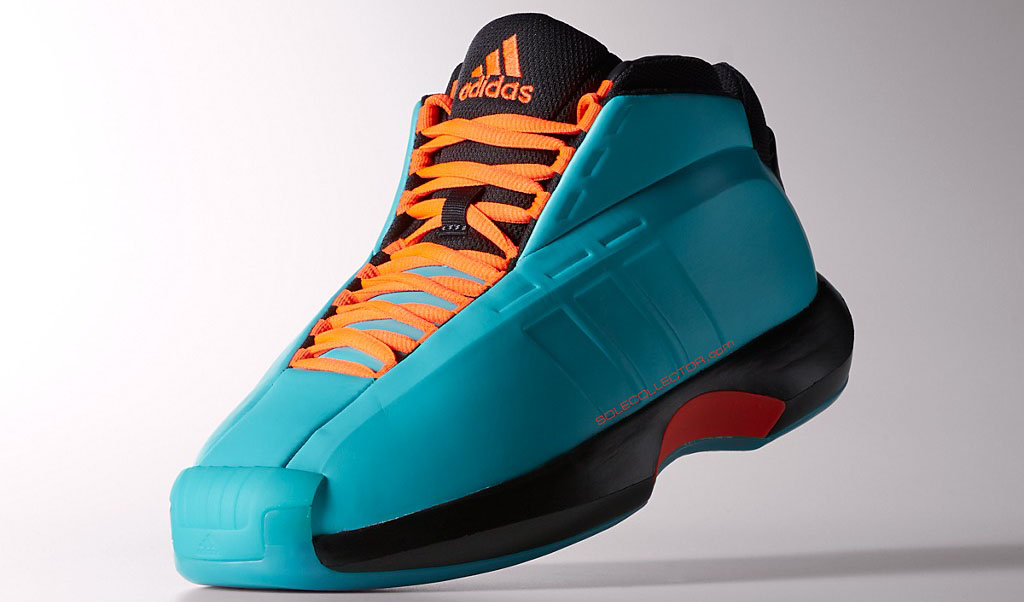adidas Crazy 1 Teal/Orange (4)