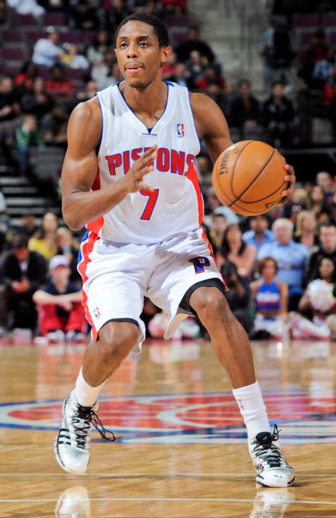 Brandon Knight wearing adidas Crazyquick