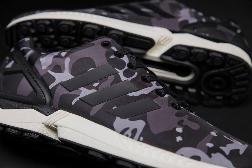 adidas Originals ZX Flux Pattern Pack Exclusive for Sneakersnstuff - Camo (5)