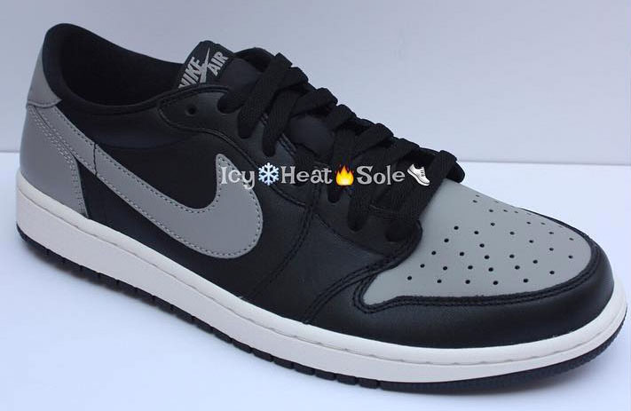 Air Jordan 1 Low Shadow Release Date 705329-003