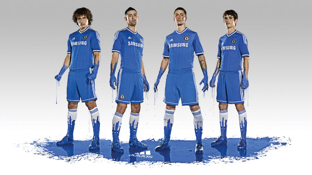 Chelsea FC & adidas Unveil 2013-14 Kit