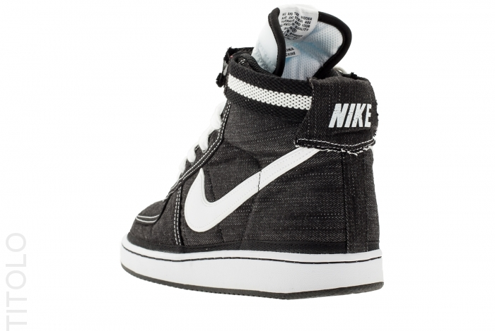 The Black Denim Nike Vandal High Supreme Is Set To Release Next Month At Authorized Sportswear Accounts Nationwide
