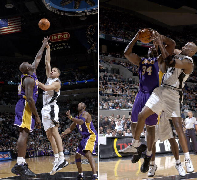Shaq's 10 Best Games as a Laker // November 6, 2003 at San Antonio Spurs - Dunkman Shaq