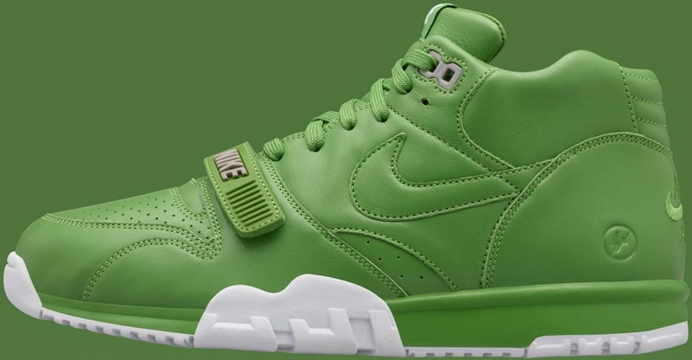 Nike Air Trainer 1 Mid Premium Chlorophyll/White-Chlorophyll