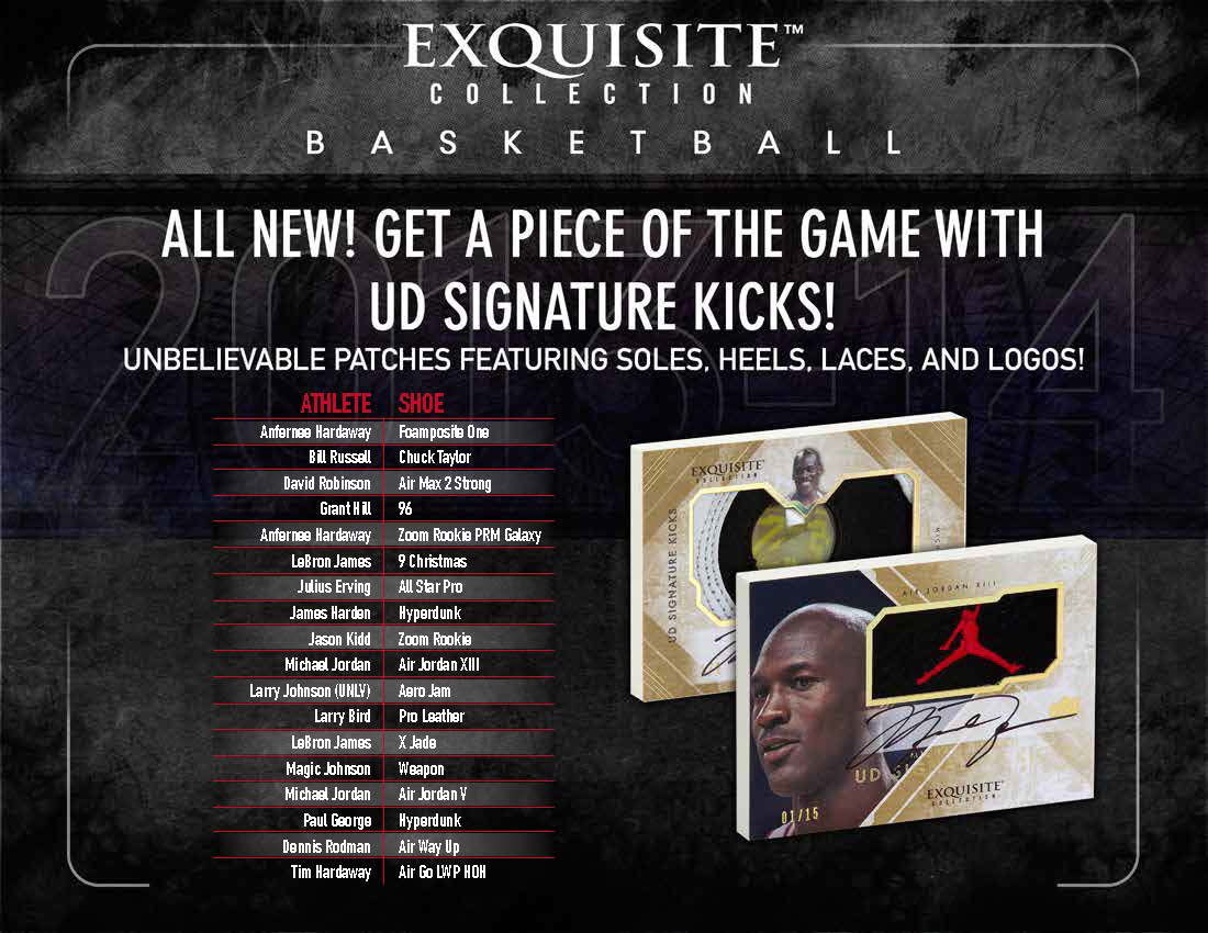 New Upper Card Set Features Michael Jordan Autographed Shoe Series (2)