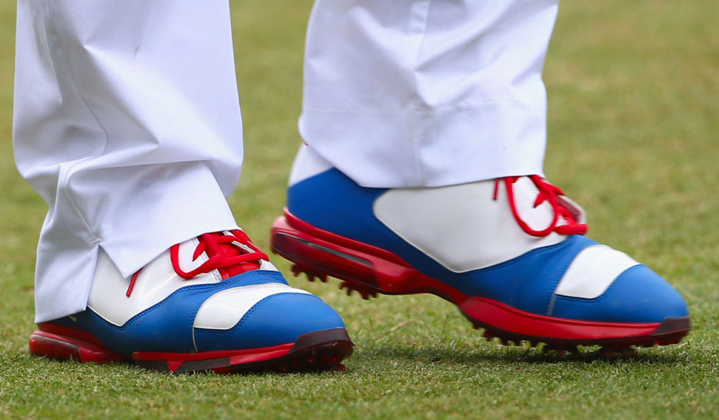 Keegan Bradley wearing US Open Golf Shoes (2)
