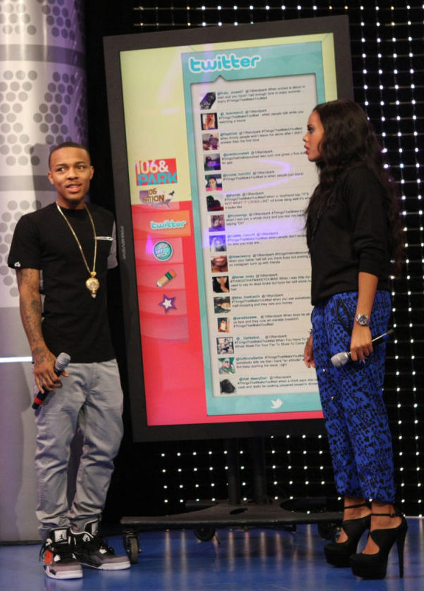 Bow Wow wearing Air Jordan IV 4 Retro Fear Pack (1)