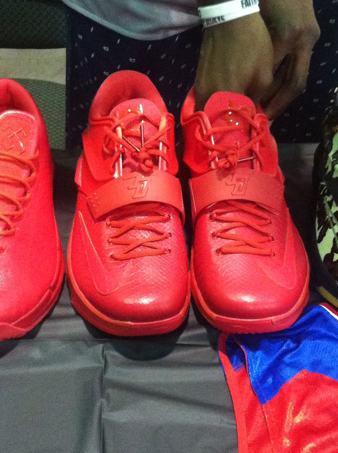 Randy Williams Displays Rare Nike KD Shoes (9)