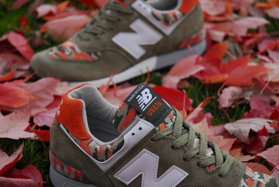 New Balance 576 Camo Pack olive