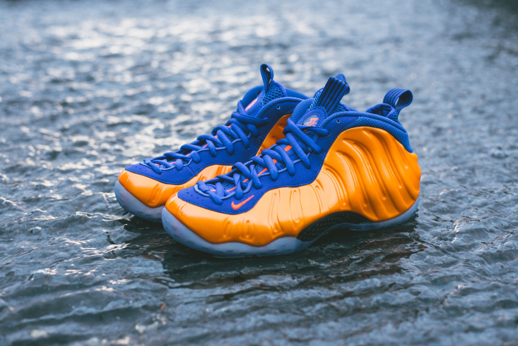 995c938022975 A Detailed Look at the  Knicks  Nike Air Foamposite One