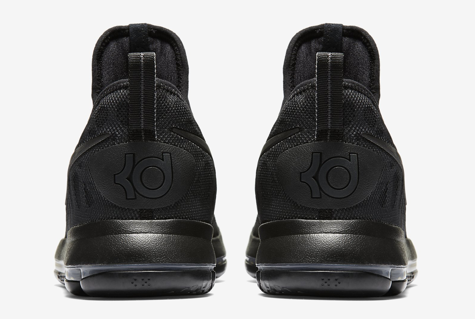 Nike KD 9 Black Space 843392-001 Heel