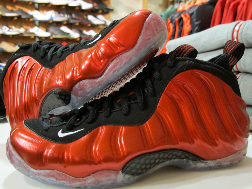 new styles f118a 6cccf Nike Air Foamposite One - Varsity Red/White-Black | Sole ...