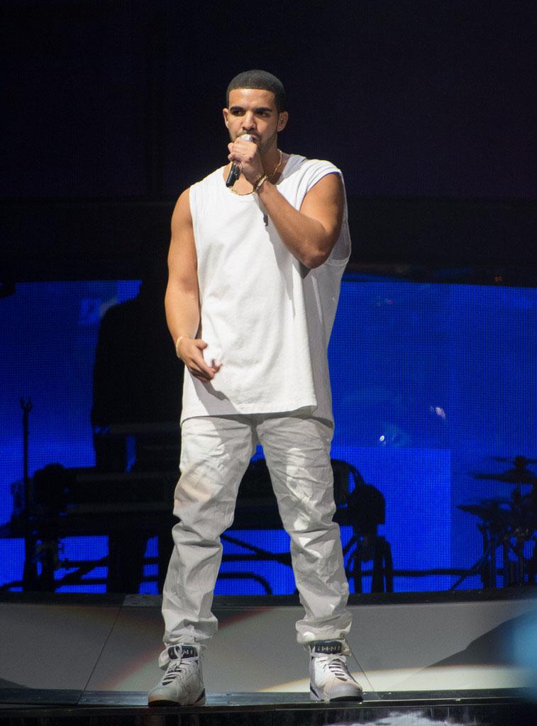 Drake Wearing Jordans