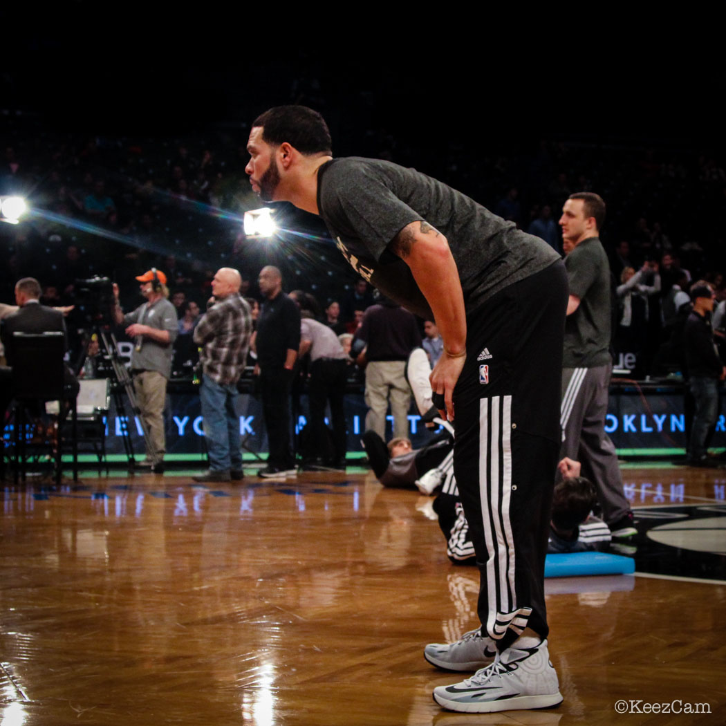 Deron Williams wearing Nike Zoom HyperRev PE (2)