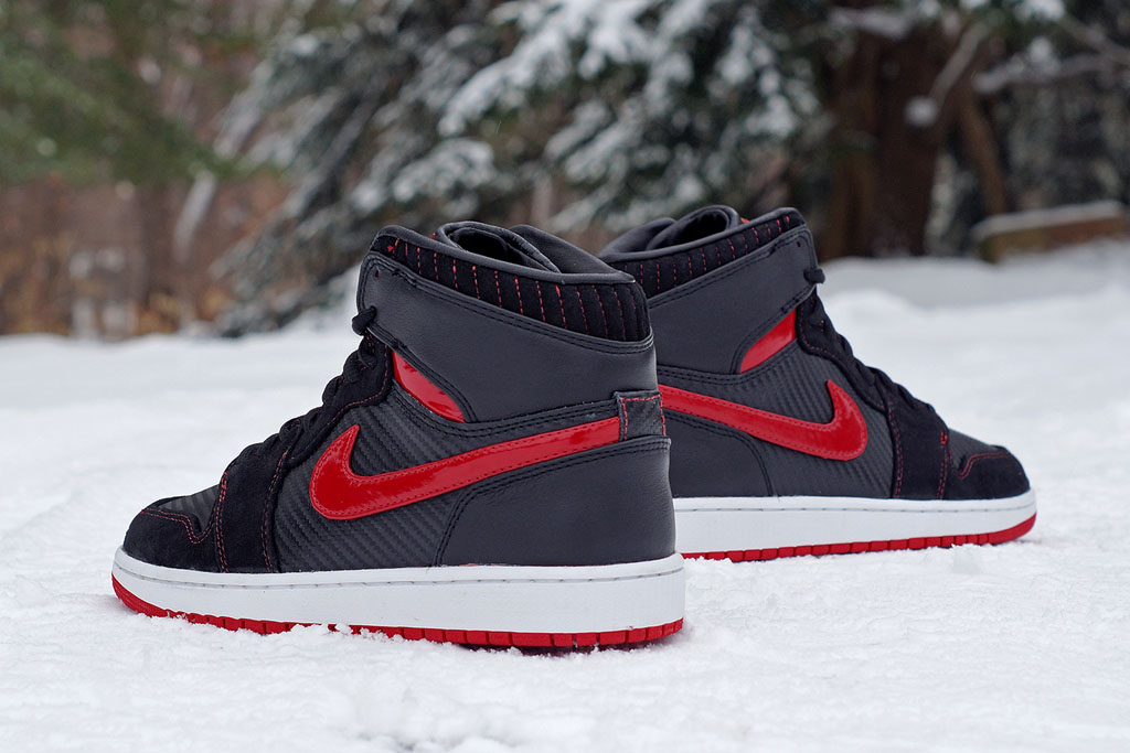 Air Jordan 1 Carbon Fiber, Suede & Patent Leather by JBF Customs (3)