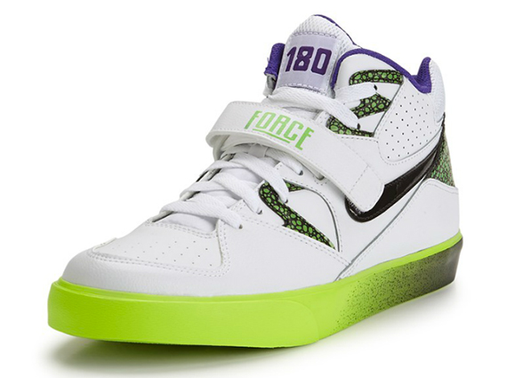 Nike Auto Force 180 - White/Volt-Purple