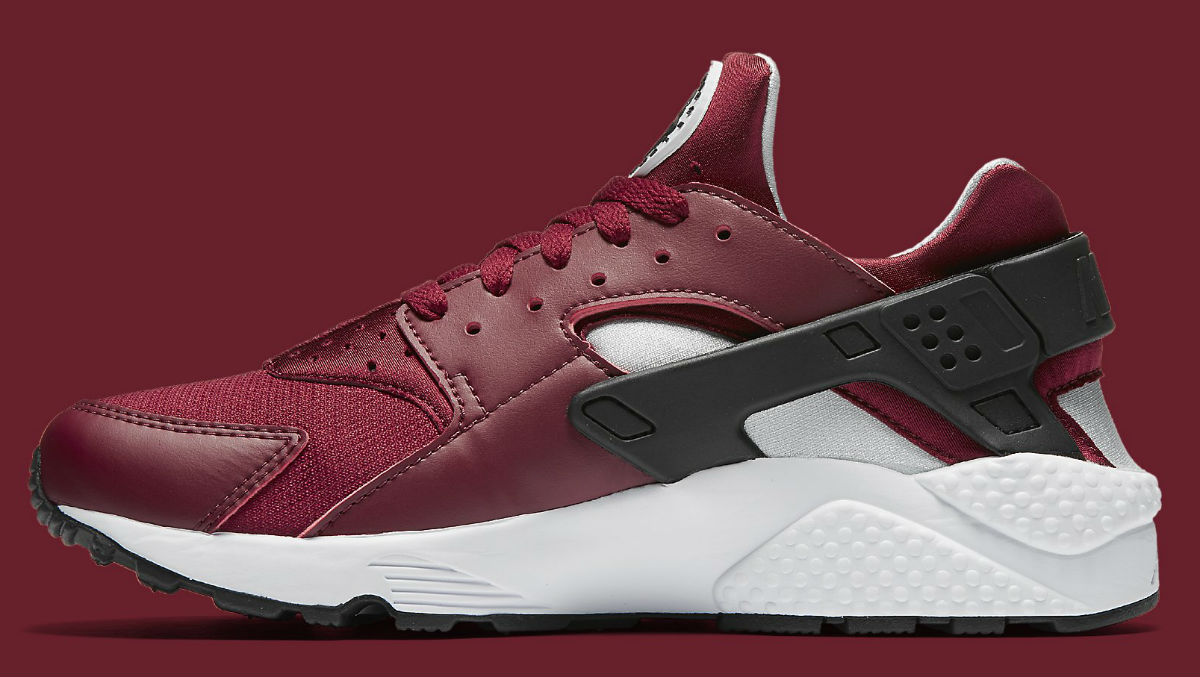 ecef86aecbb ... Nike Air Huarache Team Red Medial 318429-603 ...
